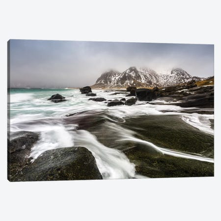 Norway, Lofoten, Uttakleiv Beach III Canvas Print #LAJ109} by Mikolaj Gospodarek Canvas Art Print