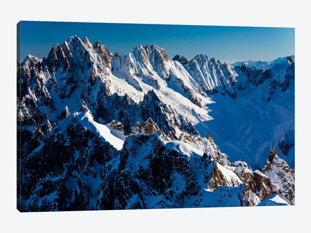 France, Chamonix, Alps, View From Aiguille du Midi I by Mikolaj Gospodarek 1-piece Art Print