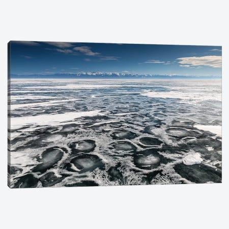 Lake Baikal, Russia, Siberia IV 3-Piece Canvas #LAJ125} by Mikolaj Gospodarek Canvas Art