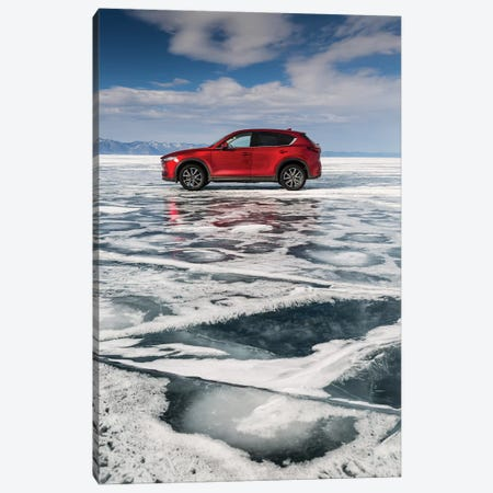 Lake Baikal, Russia, Siberia, Mazda CX-5 Canvas Print #LAJ129} by Mikolaj Gospodarek Canvas Print