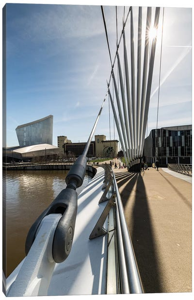 Media City, Manchester, Great Britain I Canvas Art Print