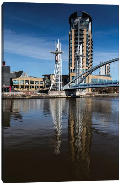 Media City, Manchester, Great Britain II Canvas Art Print