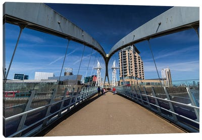 Media City, Manchester, Great Britain III Canvas Art Print