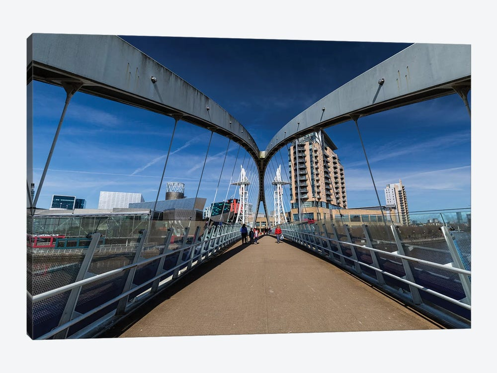 Media City, Manchester, Great Britain III by Mikolaj Gospodarek 1-piece Canvas Art Print