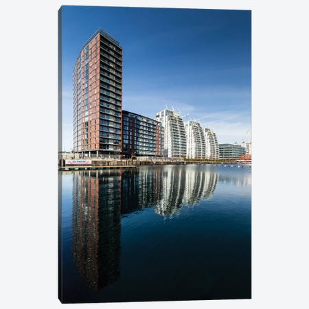 Media City, Manchester, Great Britain IV Canvas Print #LAJ133} by Mikolaj Gospodarek Canvas Art