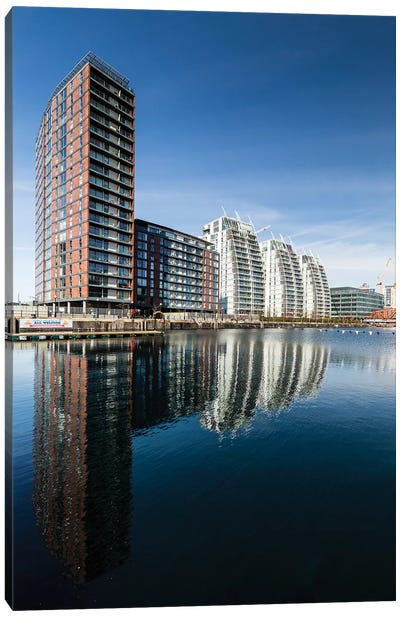 Media City, Manchester, Great Britain IV Canvas Art Print