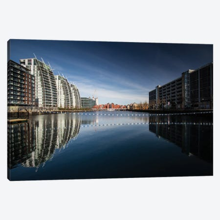 Media City, Manchester, Great Britain V Canvas Print #LAJ134} by Mikolaj Gospodarek Art Print