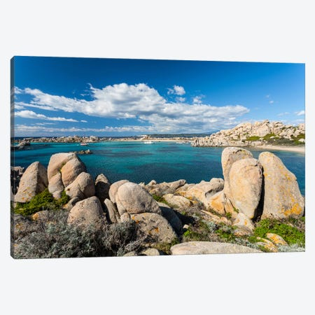France, Corsica, Lavezzi Island Canvas Print #LAJ13} by Mikolaj Gospodarek Canvas Artwork