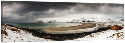 Ytresand, Lofoten, Norway Canvas Art Print
