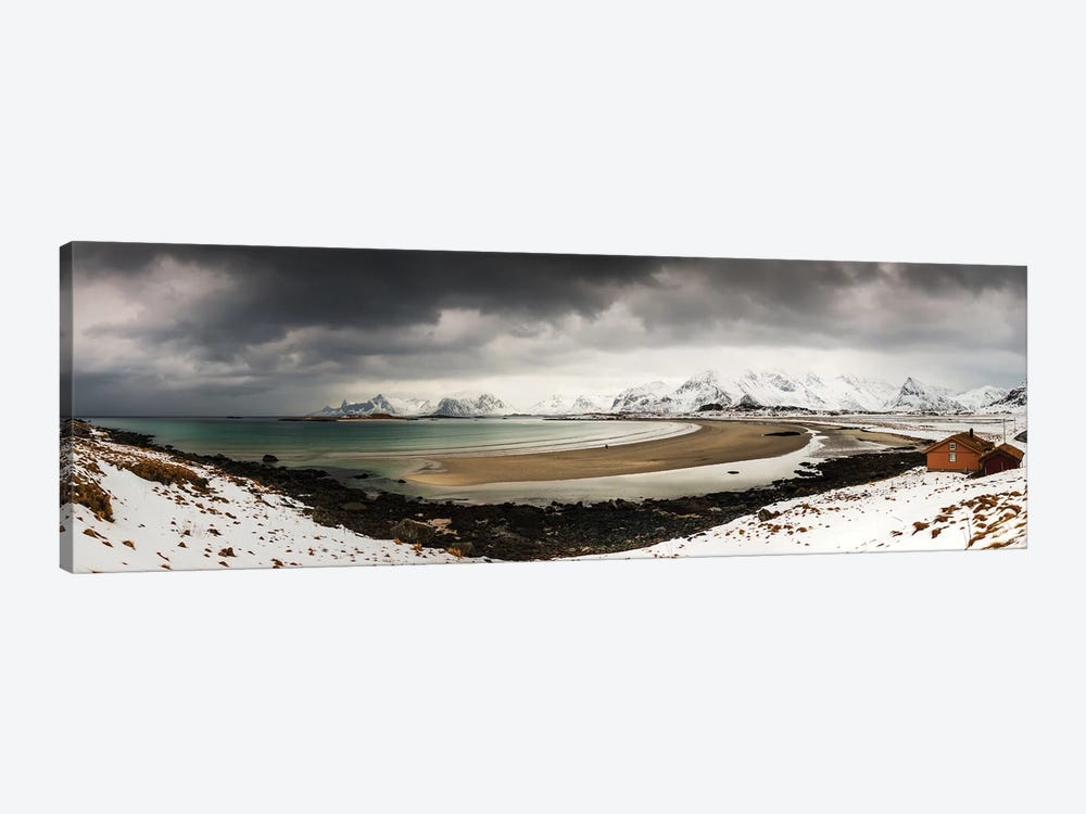 Ytresand, Lofoten, Norway by Mikolaj Gospodarek 1-piece Canvas Art Print