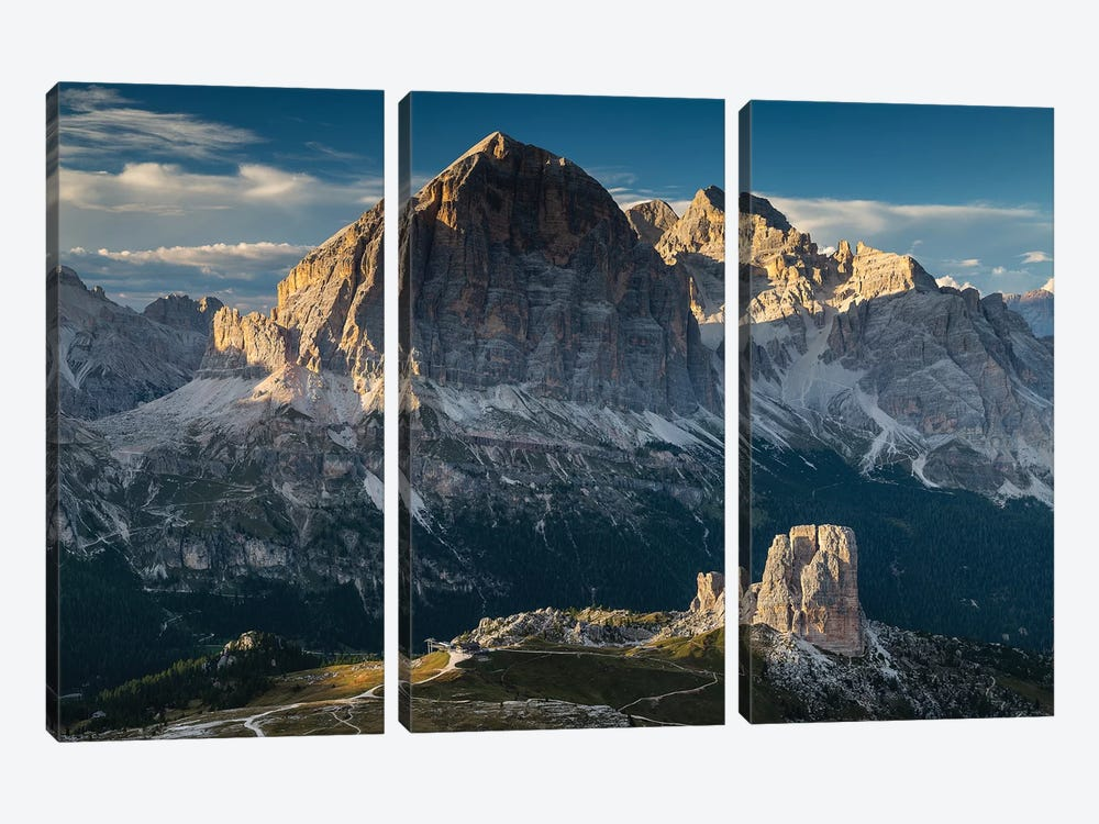 Italy, Alps, Dolomites I by Mikolaj Gospodarek 3-piece Canvas Artwork