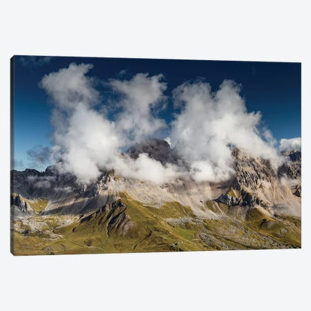 Italy, Alps, Dolomites, Col Margherita Park I Canvas Print #LAJ147} by Mikolaj Gospodarek Canvas Art