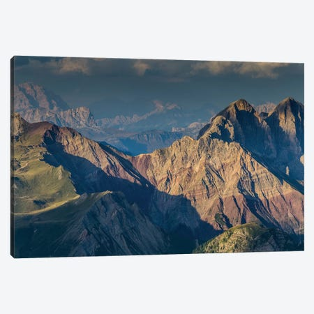 Italy, Alps, Dolomites, Col Margherita Park II Canvas Print #LAJ148} by Mikolaj Gospodarek Canvas Art Print