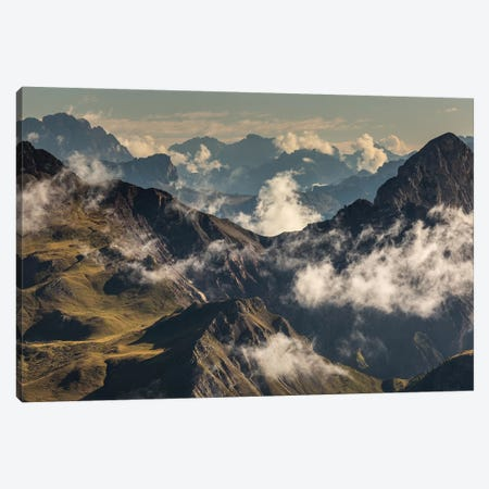 Italy, Alps, Dolomites, Col Margherita Park V Canvas Print #LAJ151} by Mikolaj Gospodarek Canvas Wall Art
