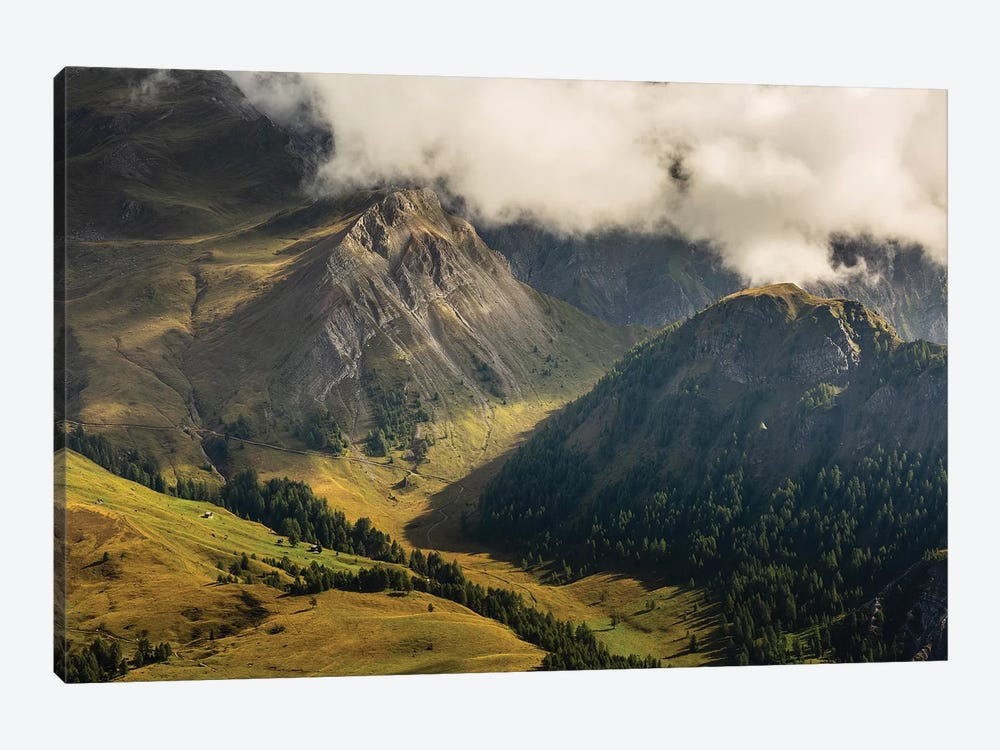 Italy, Alps, Dolomites, Col Margherita Park VI by Mikolaj Gospodarek 1-piece Canvas Print