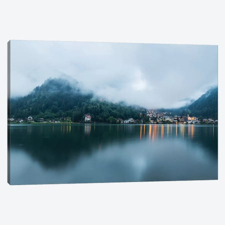 Italy, Alps, Dolomites, Lago di Alleghe  Canvas Print #LAJ153} by Mikolaj Gospodarek Canvas Art