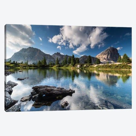 Italy, Alps, Dolomites, Lago di Limides III Canvas Print #LAJ156} by Mikolaj Gospodarek Art Print