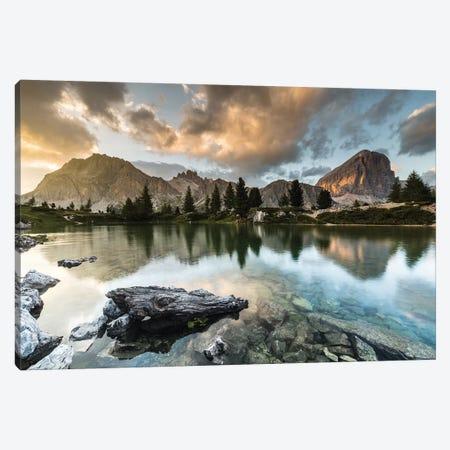 Italy, Alps, Dolomites, Lago di Limides IV Canvas Print #LAJ157} by Mikolaj Gospodarek Canvas Print