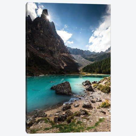 Italy, Alps, Dolomites, Mountains, Lago di Sorapiss I Canvas Print #LAJ159} by Mikolaj Gospodarek Canvas Artwork