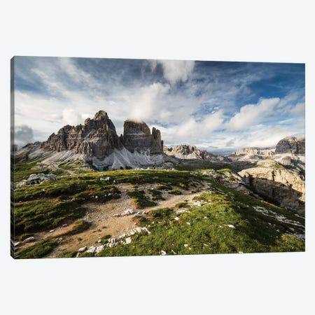 Italy, Alps, Dolomites, Mountains, Tre Cime di Lavaredo III Canvas Print #LAJ167} by Mikolaj Gospodarek Canvas Wall Art