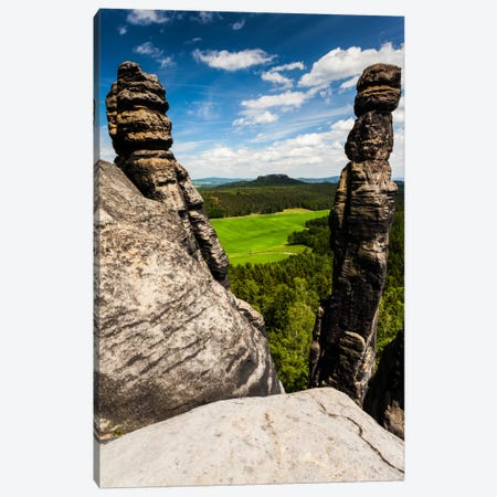 Germany, Saxon Switzerland, Barbarine Canvas Print #LAJ16} by Mikolaj Gospodarek Canvas Print