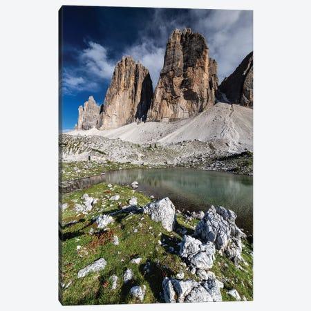 Italy, Alps, Dolomites, Mountains, Tre Cime di Lavaredo VI Canvas Print #LAJ170} by Mikolaj Gospodarek Canvas Wall Art