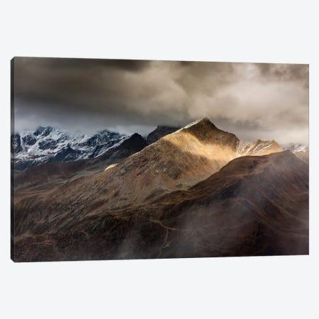 Italy, Alps, Passo Rombo Canvas Print #LAJ17} by Mikolaj Gospodarek Art Print