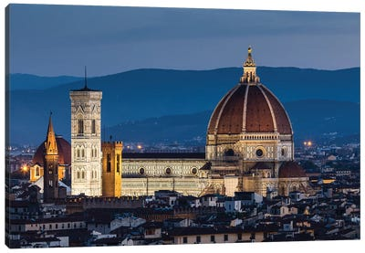 Italy, Tuscany, Florence - Florence Cathedral I Canvas Art Print