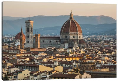 Italy, Tuscany, Florence - Florence Cathedral II Canvas Art Print