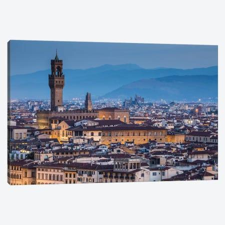 Italy, Tuscany, Florence - Palazzo Vecchio Canvas Print #LAJ182} by Mikolaj Gospodarek Art Print