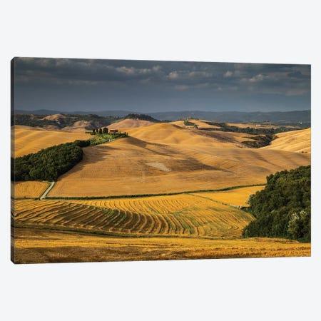 Italy, Tuscany, Province of Siena, Crete Senesi II Canvas Print #LAJ187} by Mikolaj Gospodarek Canvas Art