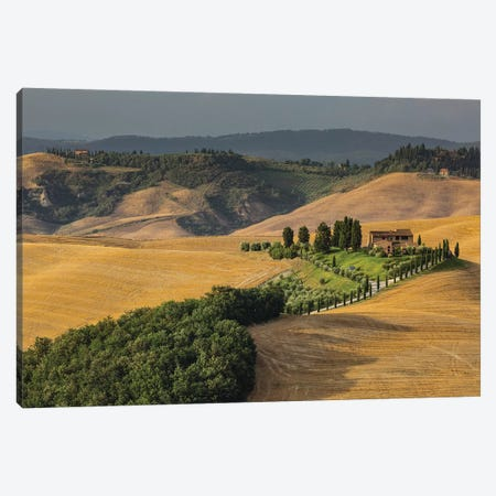 Italy, Tuscany, Province of Siena, Crete Senesi VI Canvas Print #LAJ191} by Mikolaj Gospodarek Canvas Wall Art