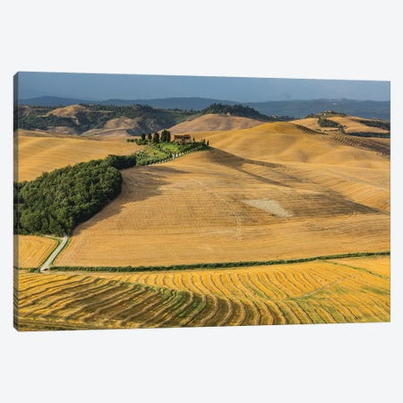 Italy, Tuscany, Province of Siena, Crete Senesi VII Canvas Print #LAJ192} by Mikolaj Gospodarek Canvas Wall Art