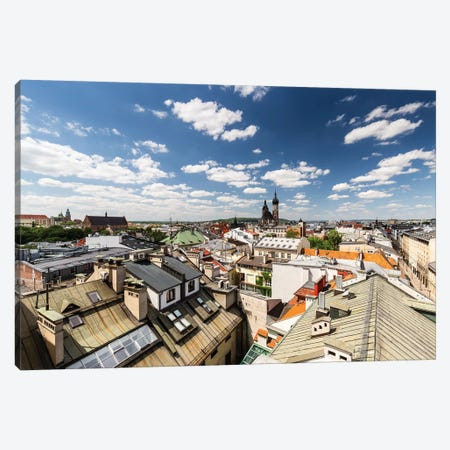 Poland, Lesser Poland, Cracow - St. Mary's Basilica I Canvas Print #LAJ196} by Mikolaj Gospodarek Canvas Print