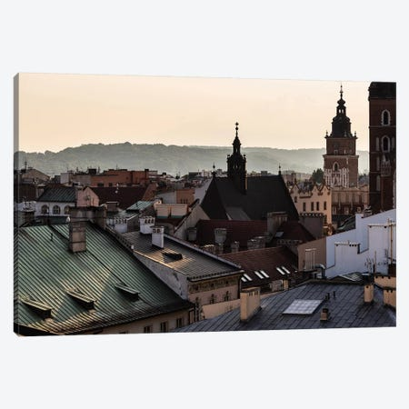 Poland, Lesser Poland, Cracow - St. Mary's Basilica II Canvas Print #LAJ197} by Mikolaj Gospodarek Canvas Print