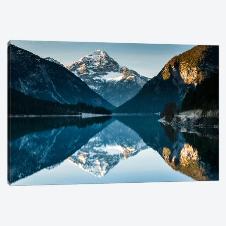 Austria, Alps, Plansee Canvas Print #LAJ1} by Mikolaj Gospodarek Canvas Art