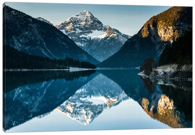 Austria, Alps, Plansee Canvas Art Print
