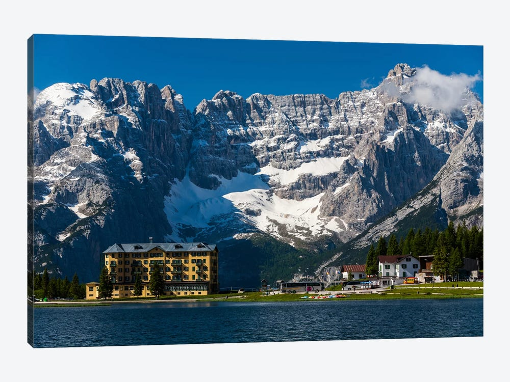 Italy, Dolomites, Misurina 1-piece Canvas Wall Art