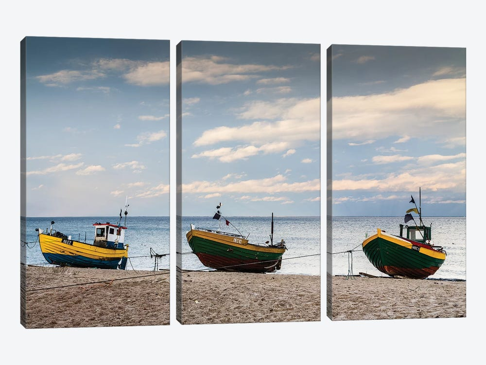 Europe, Poland, Pomerania, Melchelinki VIII by Mikolaj Gospodarek 3-piece Canvas Print