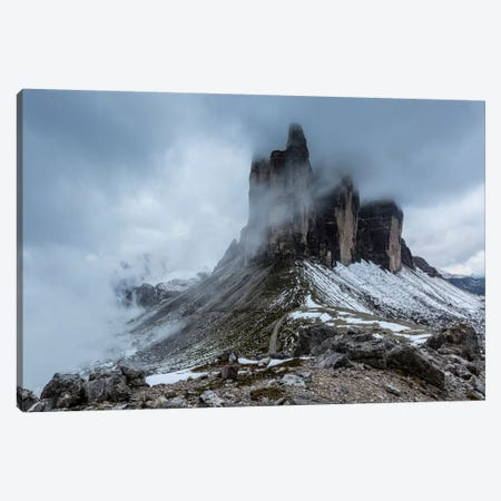 Italy, Tre Cime di Lavaredo, Dolomites I Canvas Print #LAJ23} by Mikolaj Gospodarek Canvas Art Print