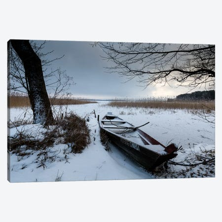 Europe, Poland, Podlaskie, Suwalskie Region, Wigry Lake I Canvas Print #LAJ251} by Mikolaj Gospodarek Art Print