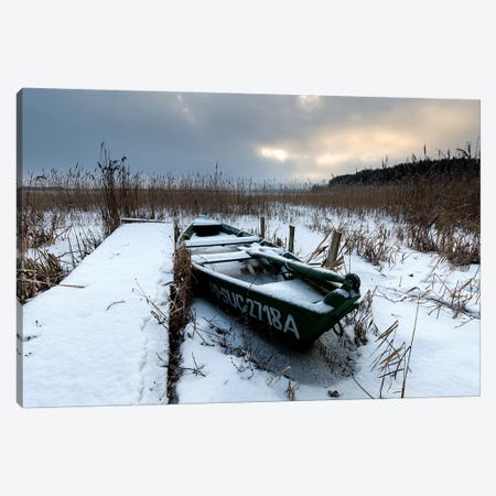 Europe, Poland, Podlaskie, Suwalskie Region, Wigry Lake II Canvas Print #LAJ252} by Mikolaj Gospodarek Canvas Print