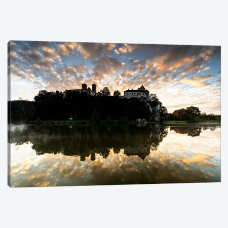 Europe, Poland, Lesser Poland, Benedictine Abbey in Tyniec Canvas Print #LAJ258} by Mikolaj Gospodarek Art Print