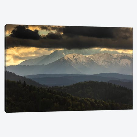 Europe, Slovakia, Tatra Mountains, View from Lesnické sedlo I Canvas Print #LAJ259} by Mikolaj Gospodarek Art Print