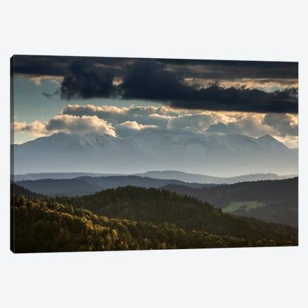 Europe, Slovakia, Tatra Mountains, View from Lesnické sedlo II Canvas Print #LAJ260} by Mikolaj Gospodarek Canvas Wall Art