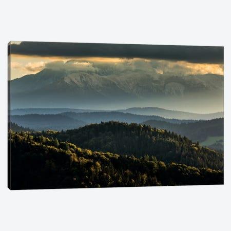 Europe, Slovakia, Tatra Mountains, View from Lesnické sedlo III Canvas Print #LAJ261} by Mikolaj Gospodarek Canvas Art