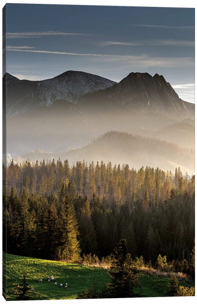 Europe, Poland, Lesser Poland, Tatra Mountains  I Canvas Art Print