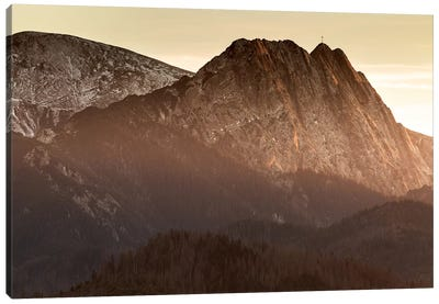 Europe, Poland, Lesser Poland, Tatra Mountains – Giewont  Canvas Art Print