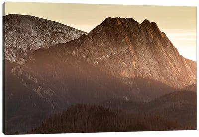 Europe, Poland, Lesser Poland, Tatra Mountains – Giewont  Canvas Art Print