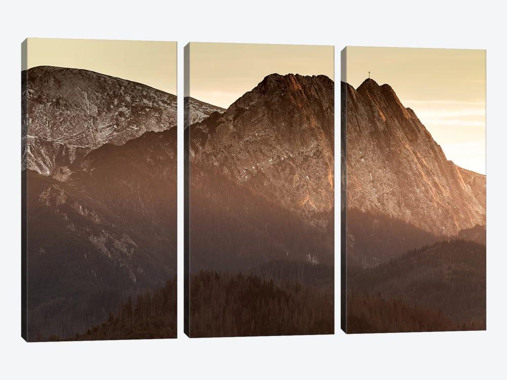 Europe, Poland, Lesser Poland, Tatra Mountains – Giewont  by Mikolaj Gospodarek 3-piece Canvas Wall Art